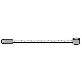 Câble de changement de vitesse universelle 205 cm